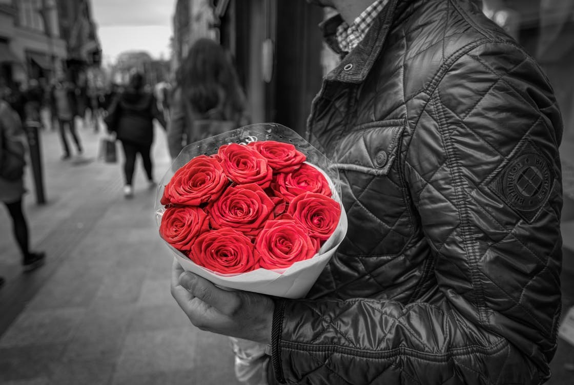 A Man's Guide to Buying Flowers