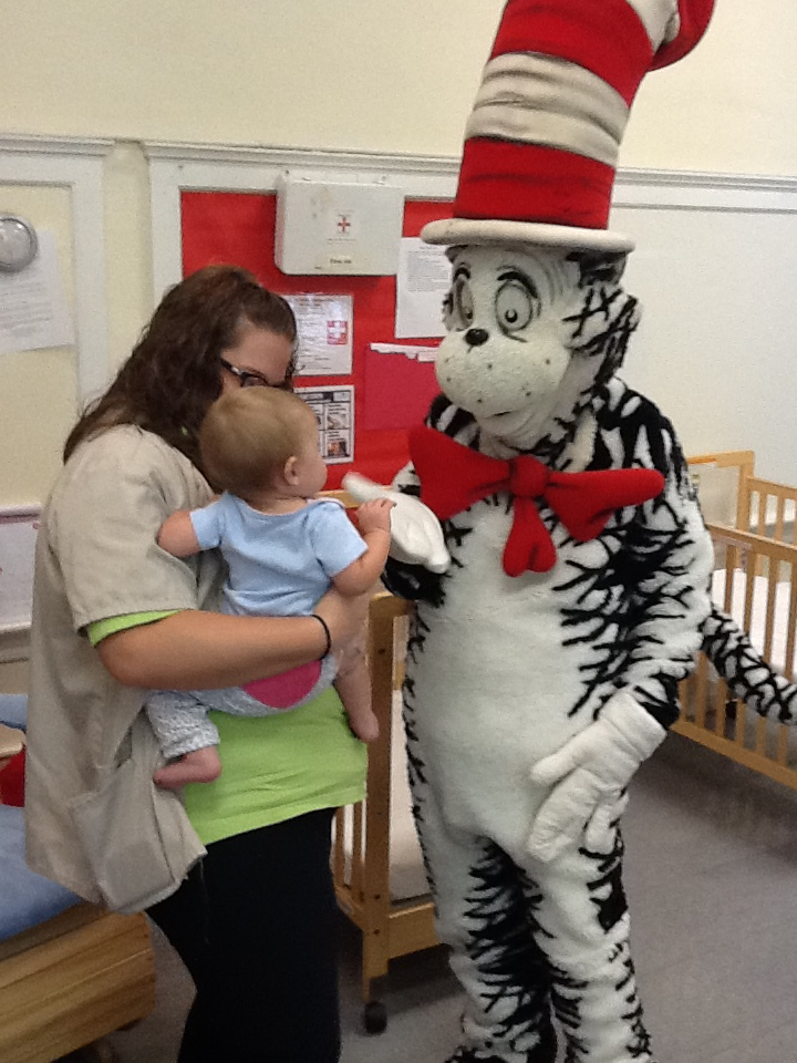 A visit from the Cat in the Hat
