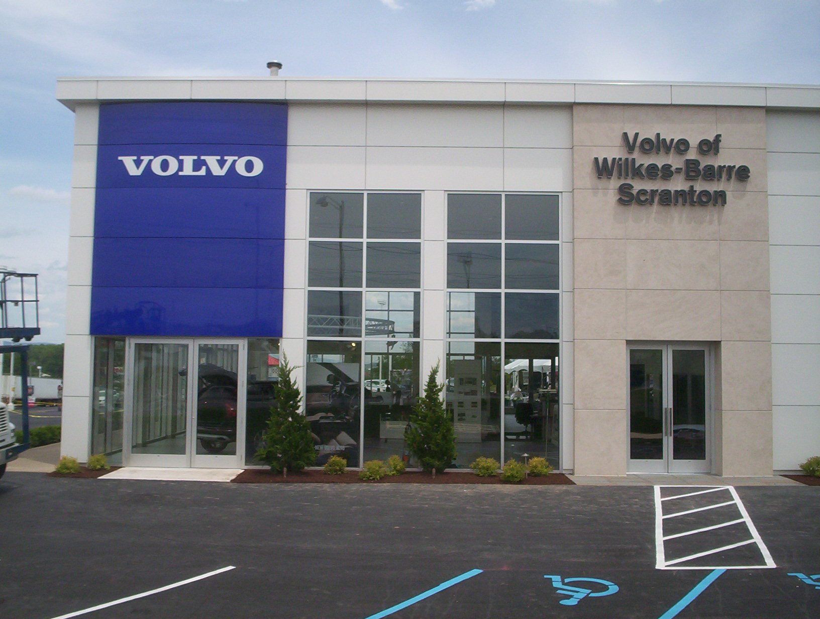 Another Finished Project: Volvo of Wilkes-Barre/Scranton