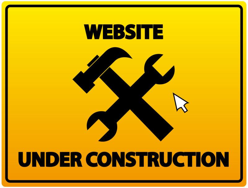 Website in de maak