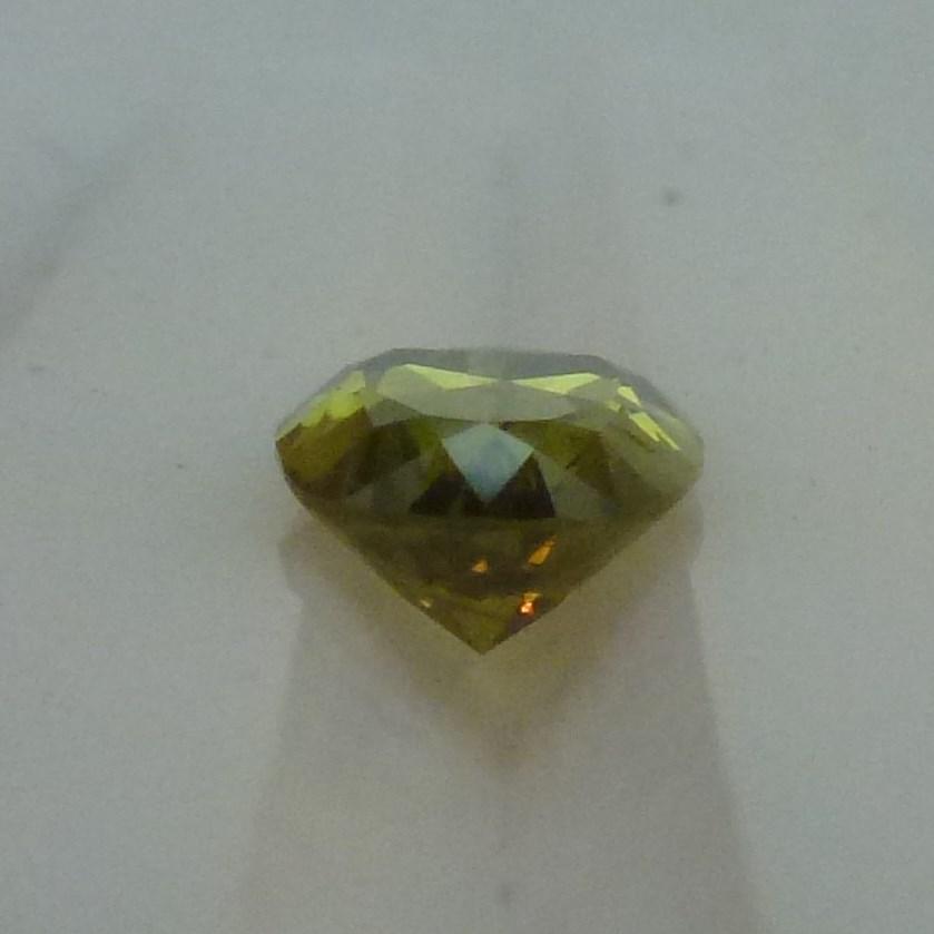 15004 - Green / Gold Parti Sapphire