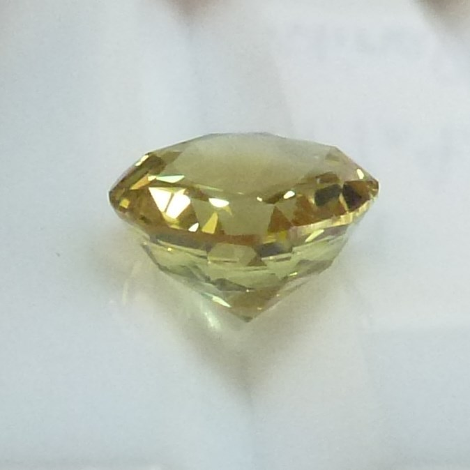 15007 - Pale Yellow Lime Sapphire