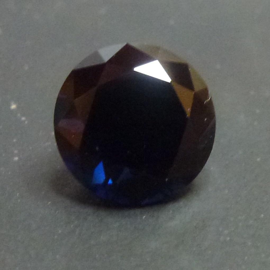 15015 - Dark Blue Sapphire