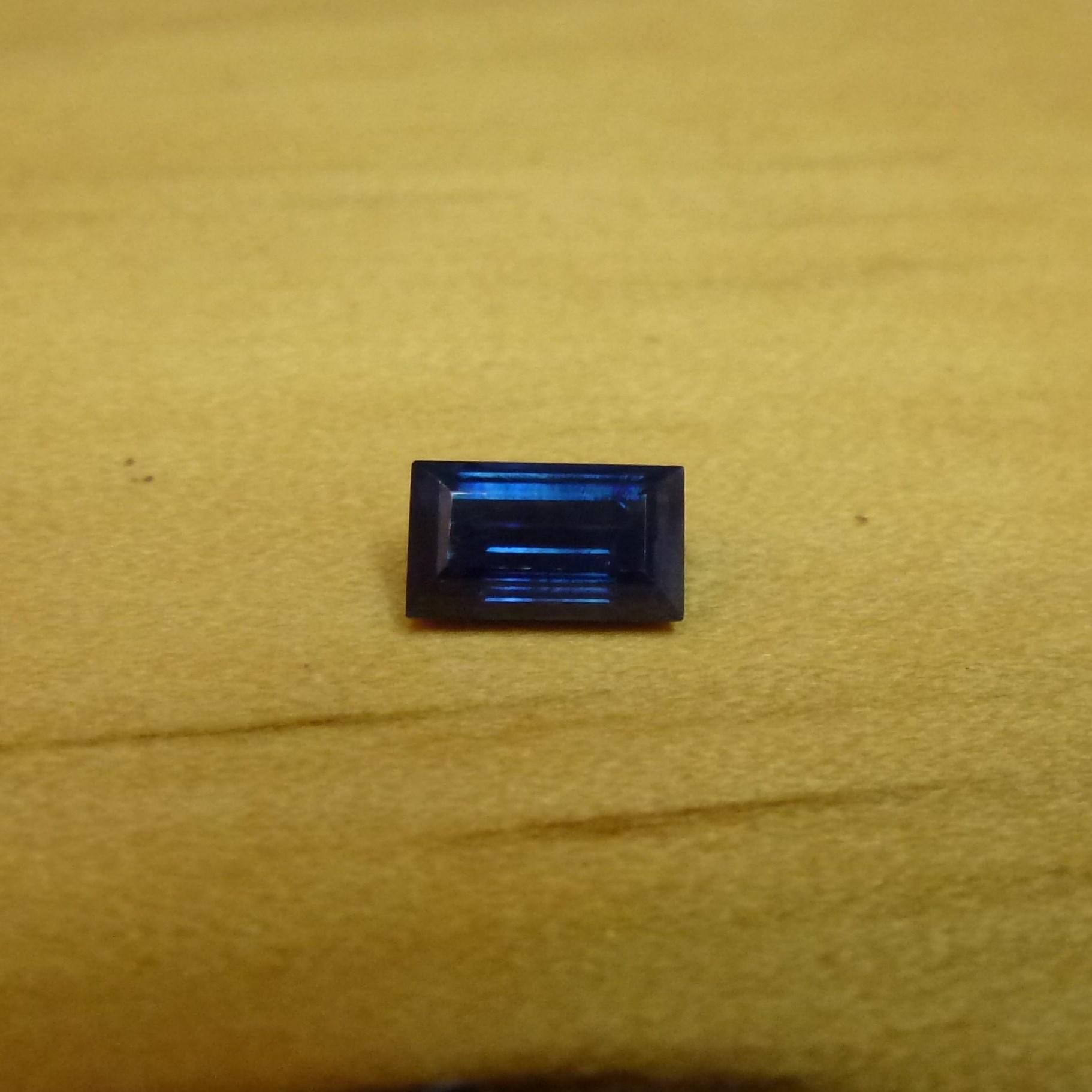 15118 - Dark Blue Sapphire