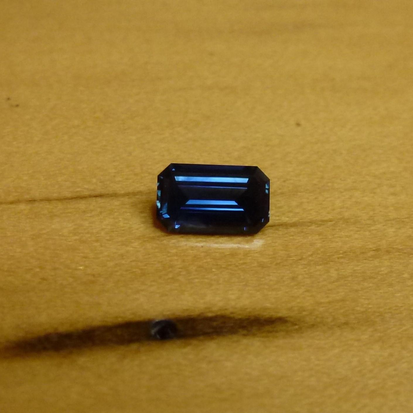 15119 - Dark Blue Sapphire