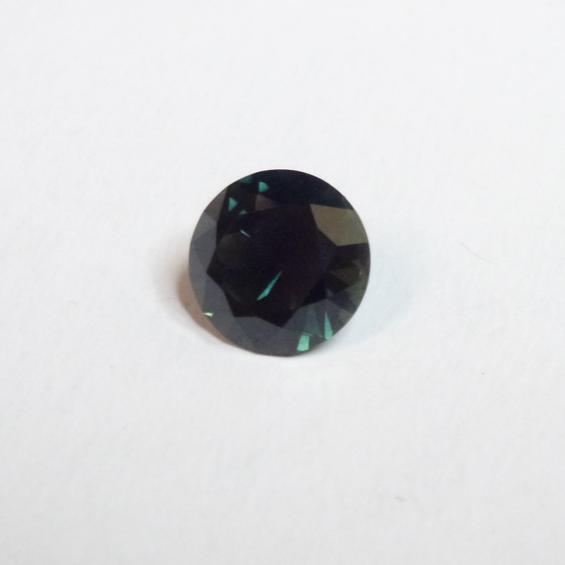 15121 - Dark Green Blue Parti Sapphire