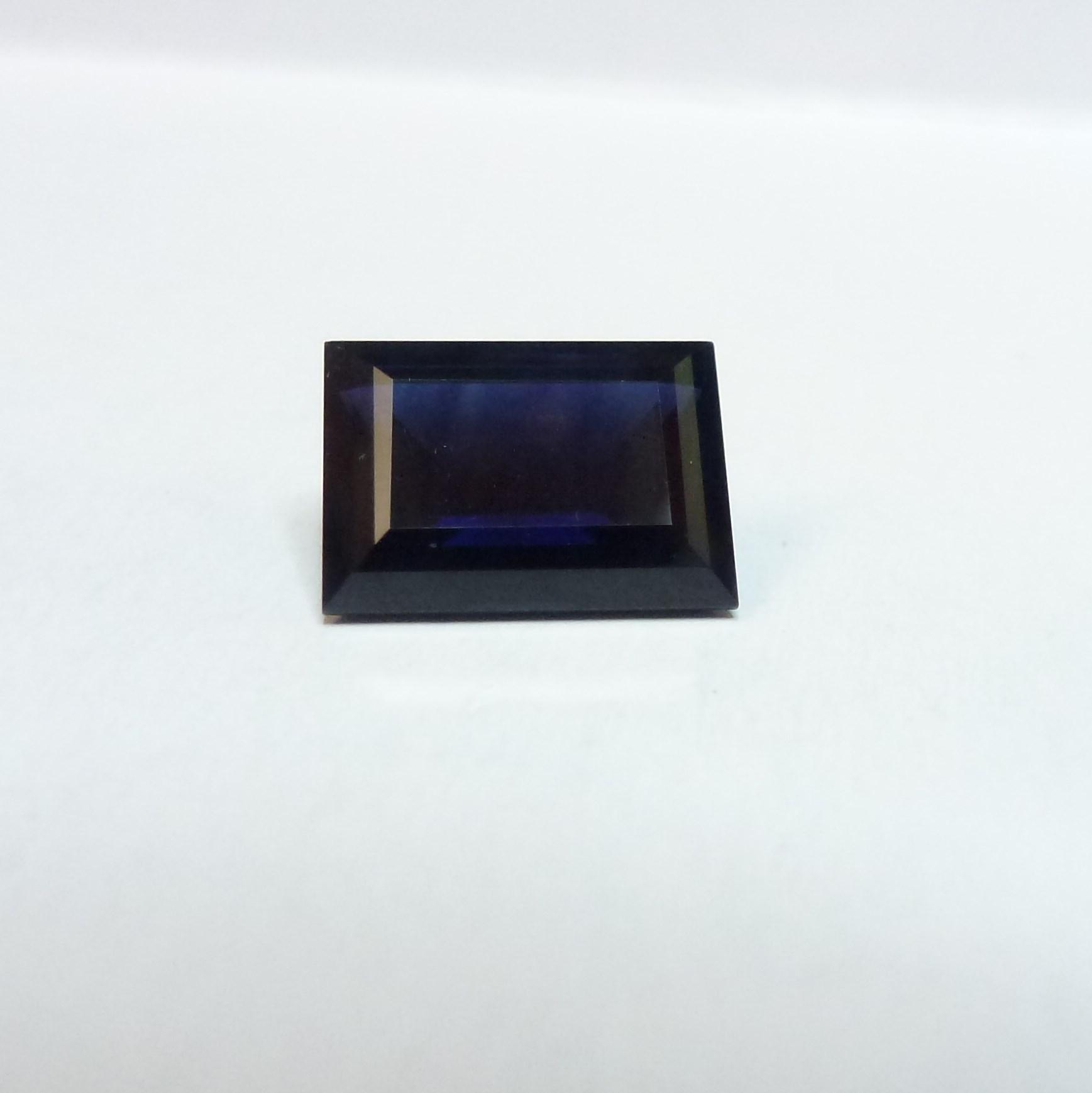 15128 - Dark Blue Sapphire