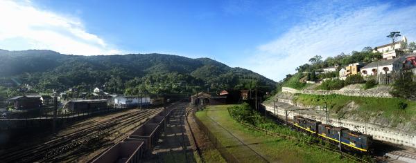 Paranapiacaba, Santo André, Brasil, train station, gare ferroviaire. estaçao de trem
