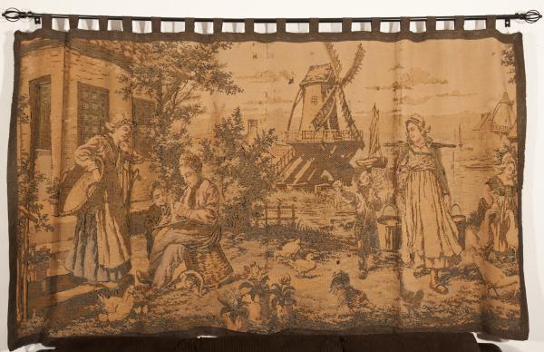 tapisserie; old tapestry; vieille tapisserie, Belgium, Belgique