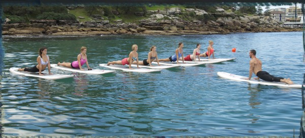 SUP Yoga, Manly