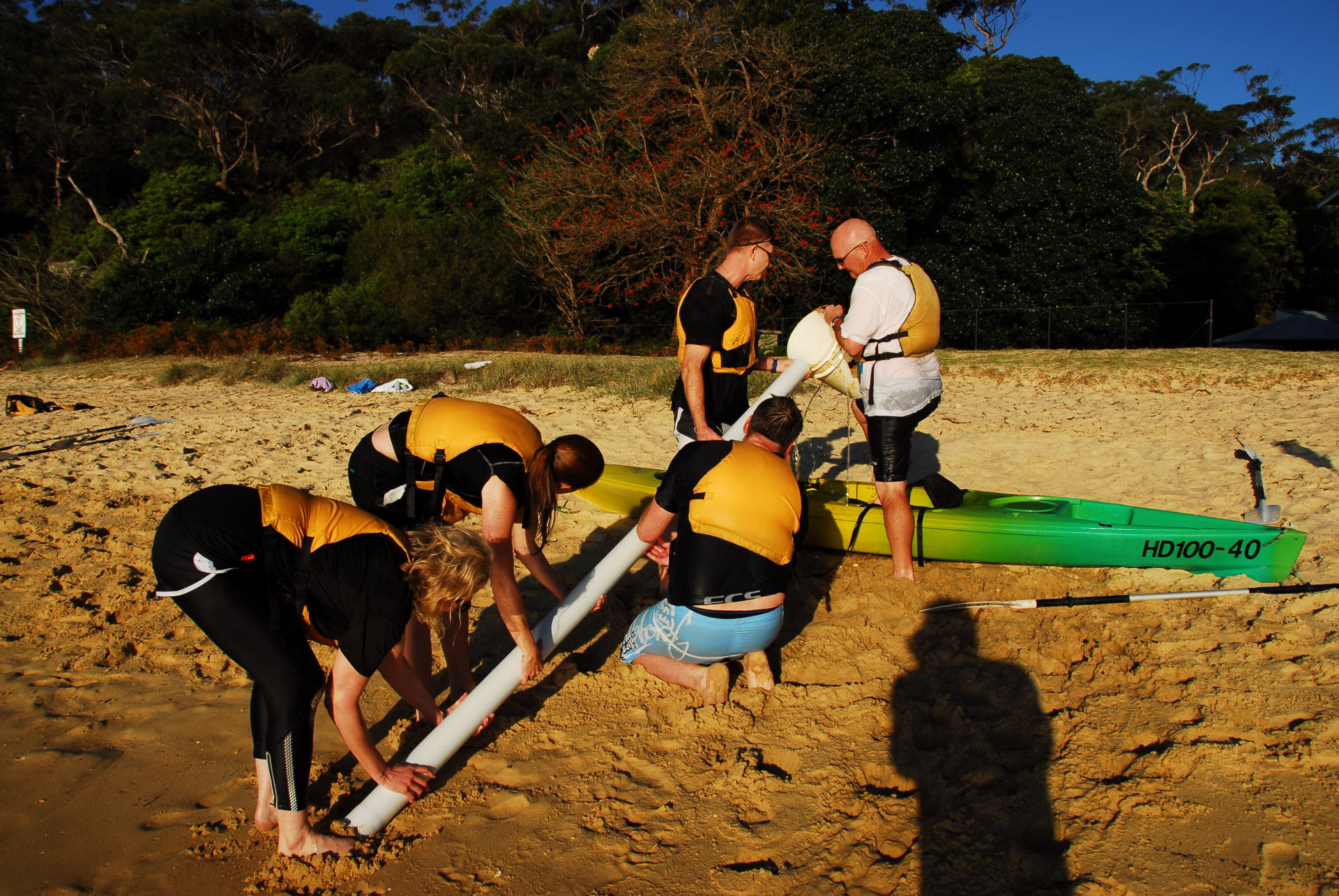 Pipe Fill, Team Building