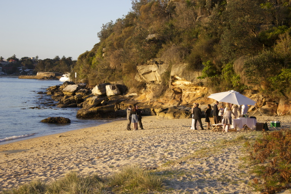 Beach Wedding, Manly