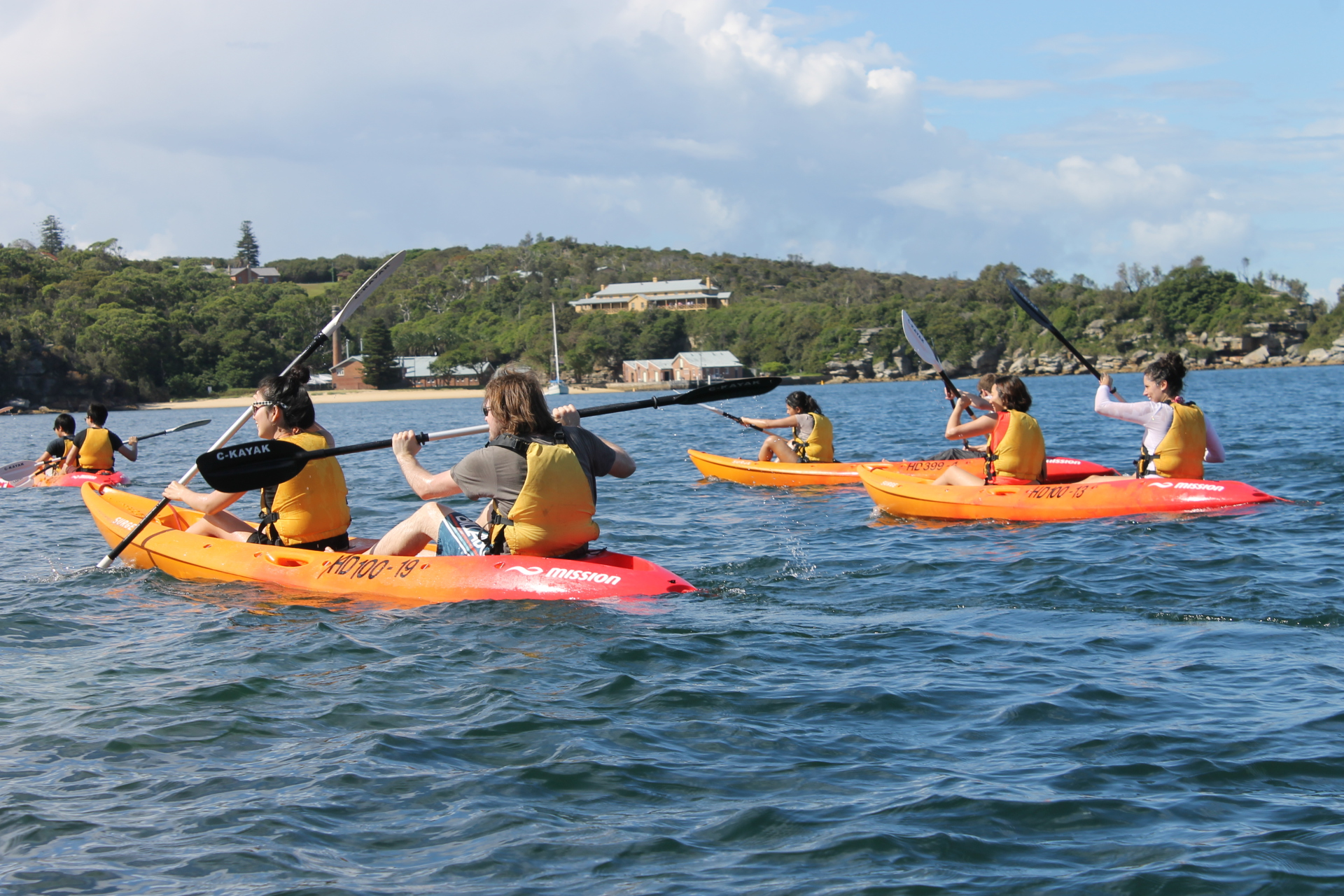 Kayak Tour Manly