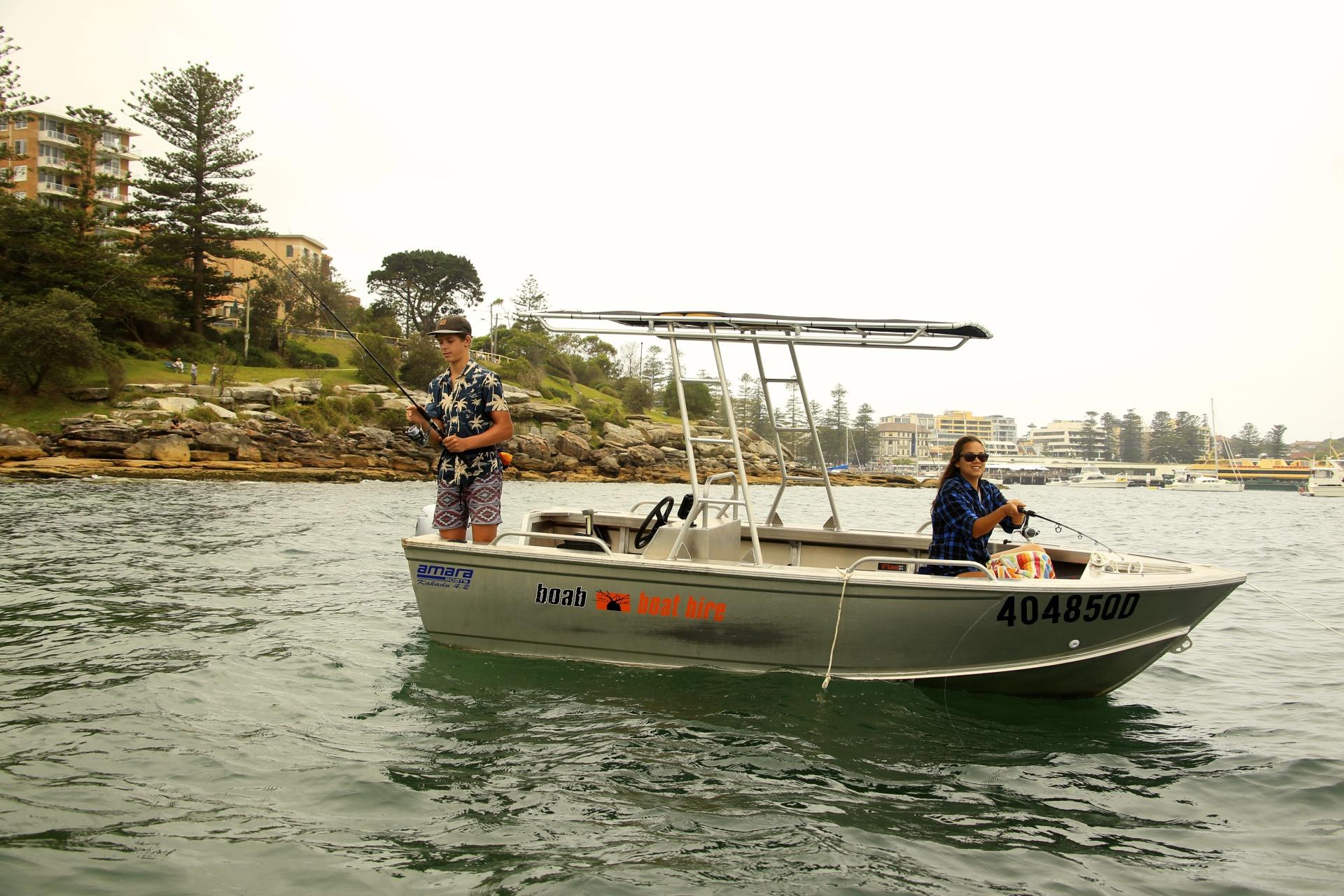 Self-Drive Leisure Boat