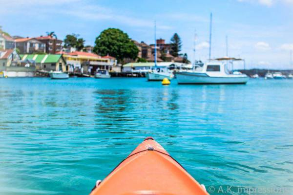 Kayak Sydney Harbour