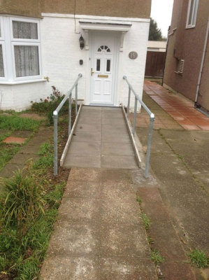 Front Ramped Access