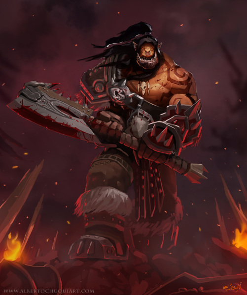 Grommash Hellscream - 2016