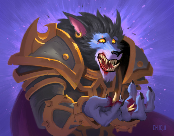 Hearthstone The Witchwood Fan Art