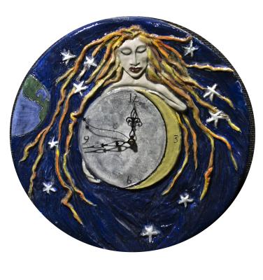 Celestial Woman  Clock  $205