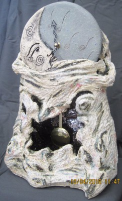 Sleeping Moon Sculpture $315