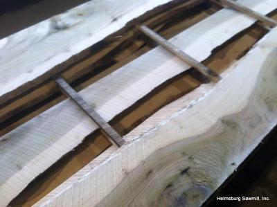 live edge siding, wavy edge siding, rough sawn lumber siding, house siding