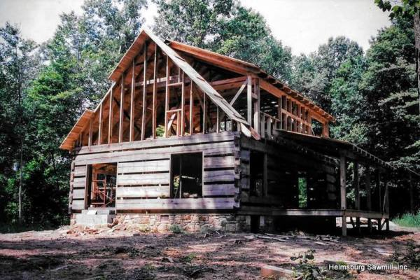 Log Cabin Lumber Packages