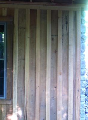 Board & batten, house siding, barn siding, wood siding