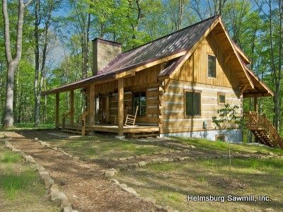 Log cabins, dream home, log home living, custom log kits