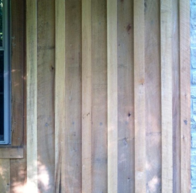 Board & Batten Siding Rough Sawn Poplar