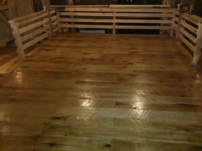 Story Inn Barn Floor