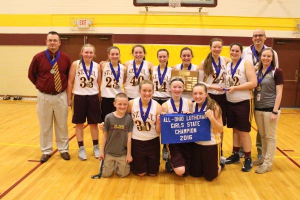 2016 All Ohio Girls Basketball Champs!