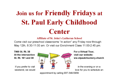 St. Paul Friendly Fridays