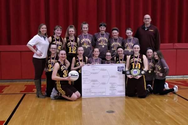 St. Paul, Napoleon wins 2018 All Ohio Girls Basketball Tournament!