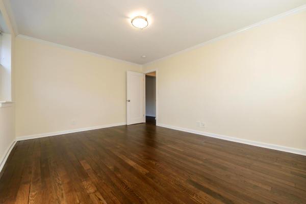 Beautifully finished hardwood floors throughout