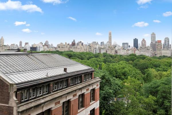 Central Park View from your private terrace