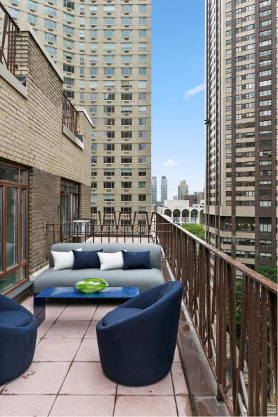 Views of Lincoln Center from your private terrace