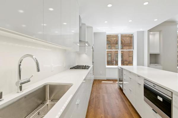 Ample storage and countertop space make cooking a breeze in this Chef's dream kitchen