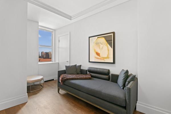 Guest Bedroom/Den with Eastern exposures