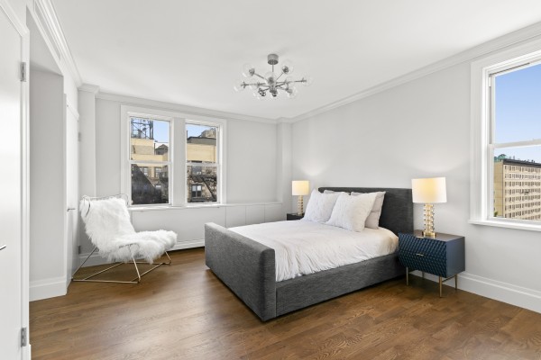 Oversized Master Bedroom with North and East exposures
