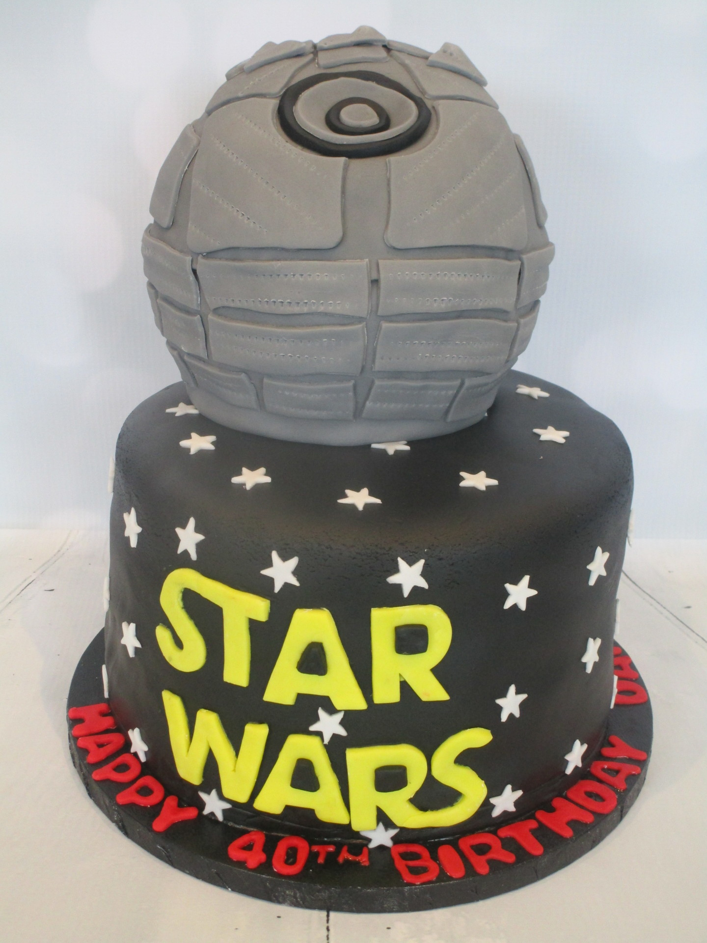 Millenium Falcon Large Event Birthday Cake