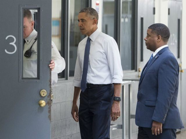 Obama visiting the Oklahoma prison in July