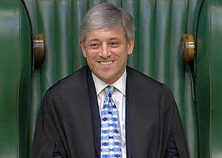 Speaker John Bercow looking all Speaker-ish (Image via www.europarl.org.uk)