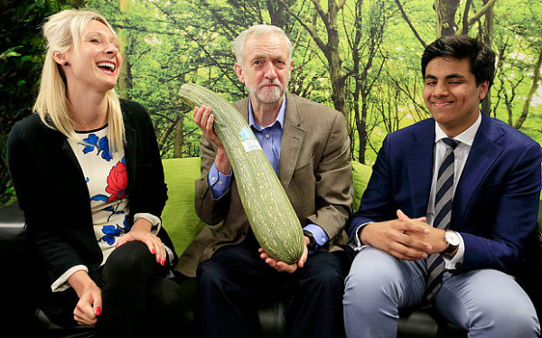 Corbyn casually posing (www.telegraph.co.uk)