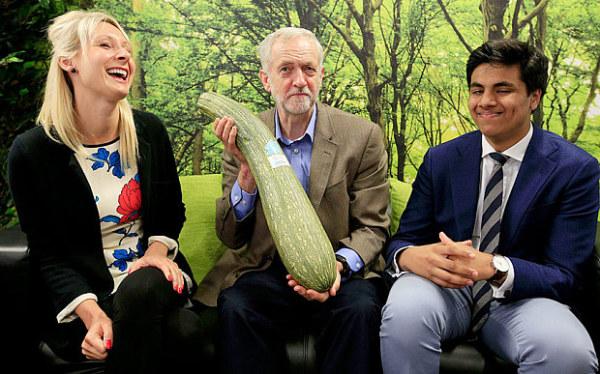 Corbyn casually posing (www.telegraph.co.uk)