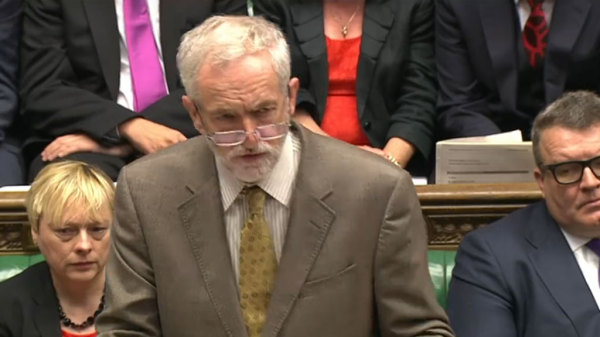 Corbyn refusing to fight fire with fire at Prime Minister's Questions