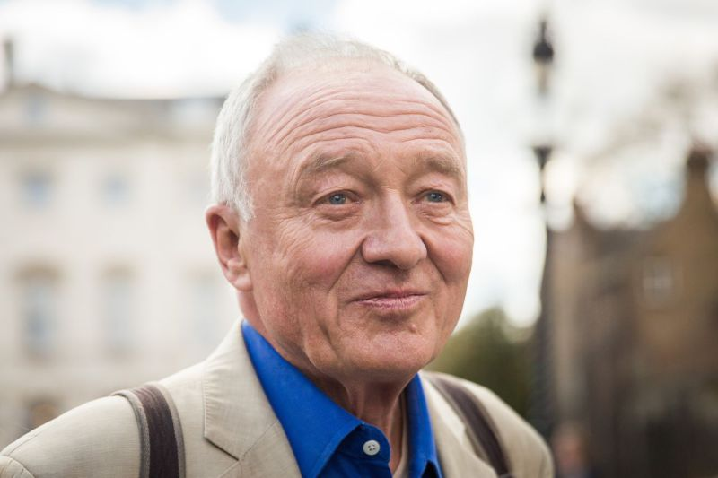 Ken Livingstone in the midst of the crisis