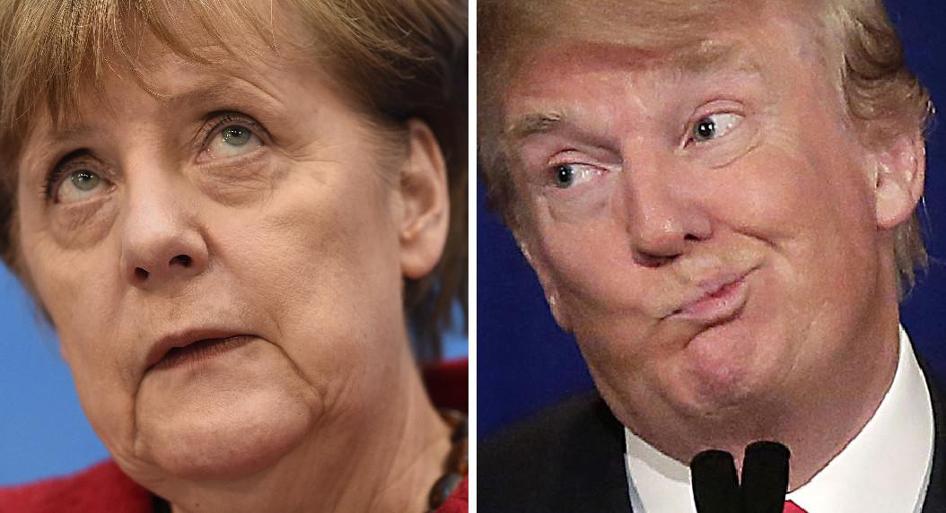 Trump v Merkel
