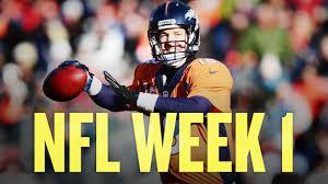The Return of the NFL; Week 1 Picks