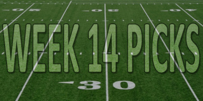 NFL Week 14 Picks