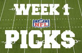 All Is Right With The World Again; NFL Week 1 Picks